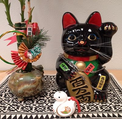 maneki neko, lucky cat